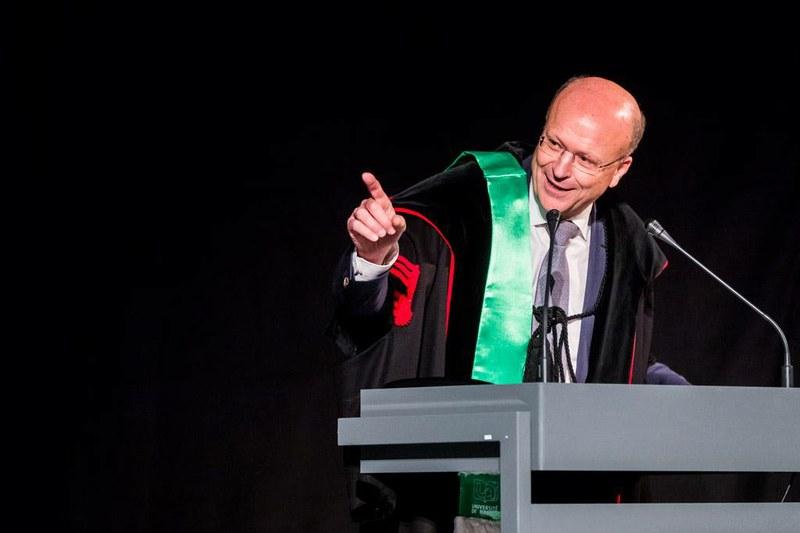Le Président de la cour européenne de justice, Koen Lenaerts, Doctor Honoris Causa de la Faculté de droit