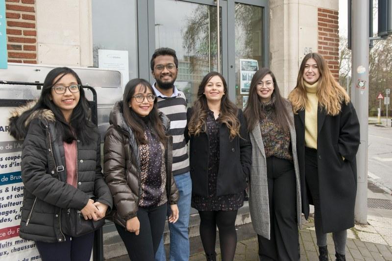 EMOTION: Erasmus students at UNamur for a borderless training